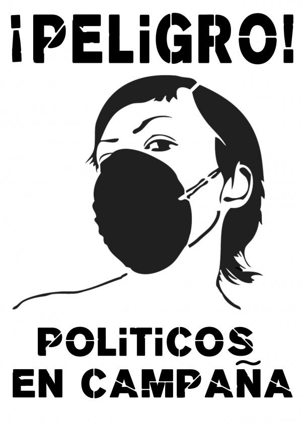 politicos en campaña